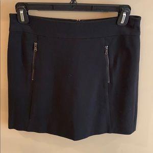 Ann Taylor Black Skirt Size 4 Petite